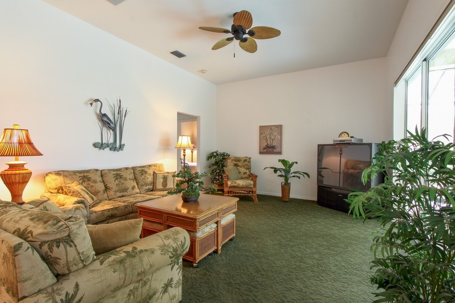 Real Estate Photography - 12010 Wedge Drive, Fort Myers, FL, 33913 - Family Room