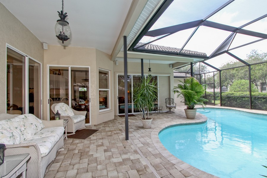 Real Estate Photography - 12010 Wedge Drive, Fort Myers, FL, 33913 - Lanai