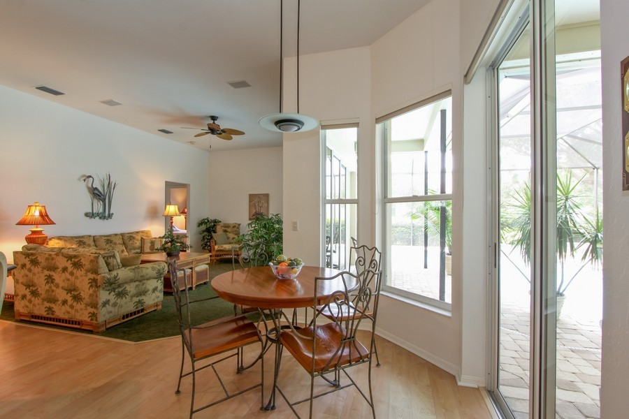 Real Estate Photography - 12010 Wedge Drive, Fort Myers, FL, 33913 - Breakfast Nook