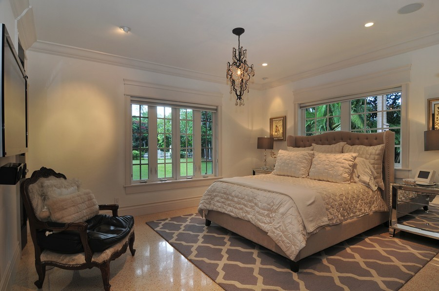 Real Estate Photography - 5978 Miller Rd, South Miami, FL, 33155 - Master Bedroom