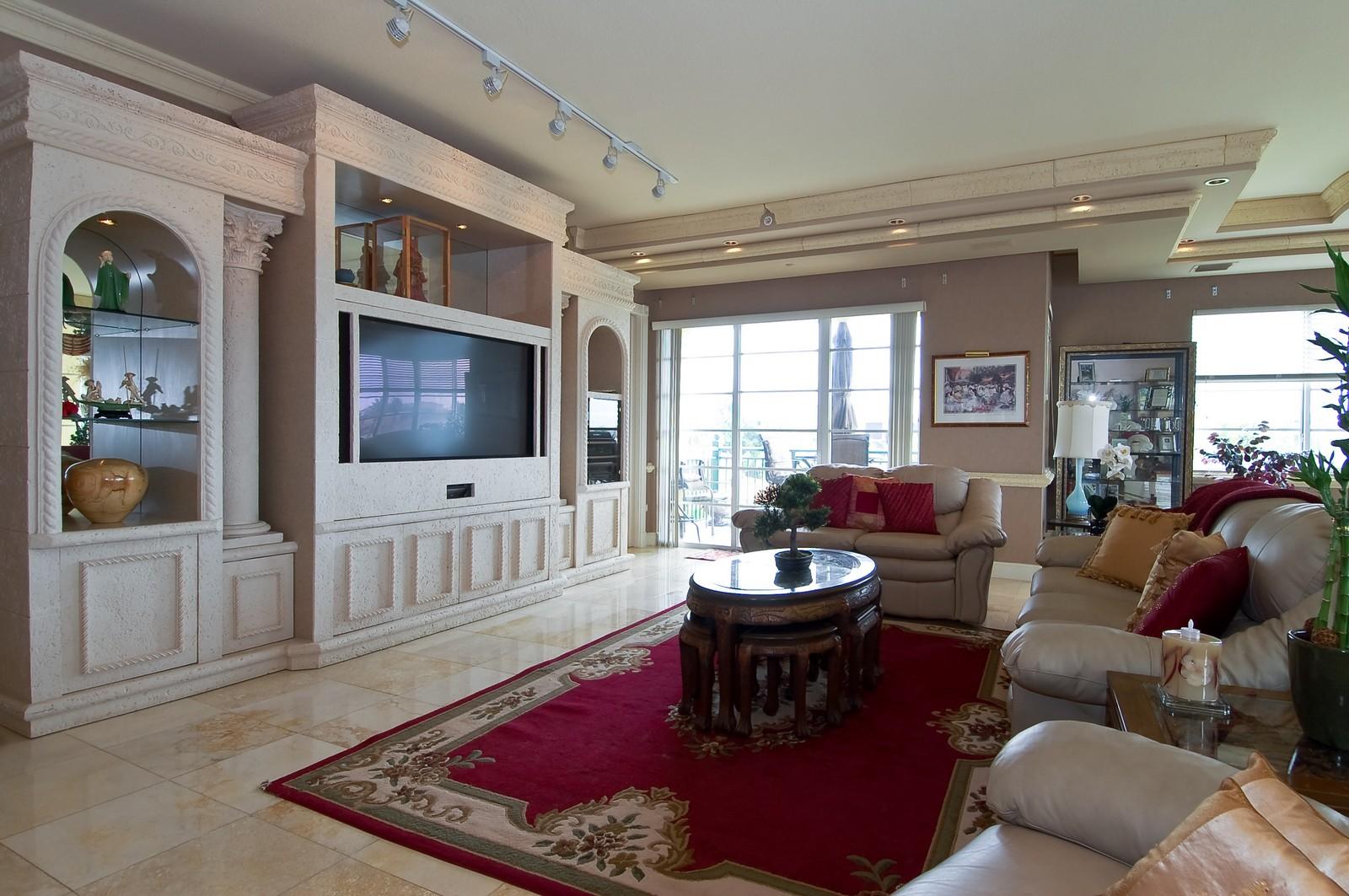 Real Estate Photography - 1230 Hillsboro Mile, Hillsboro Beach, FL, 33062 - Living Room