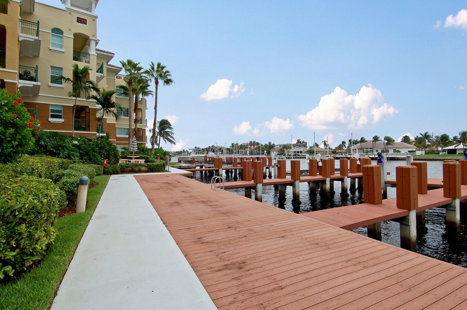 Real Estate Photography - 1230 Hillsboro Mile, Hillsboro Beach, FL, 33062 - Dock