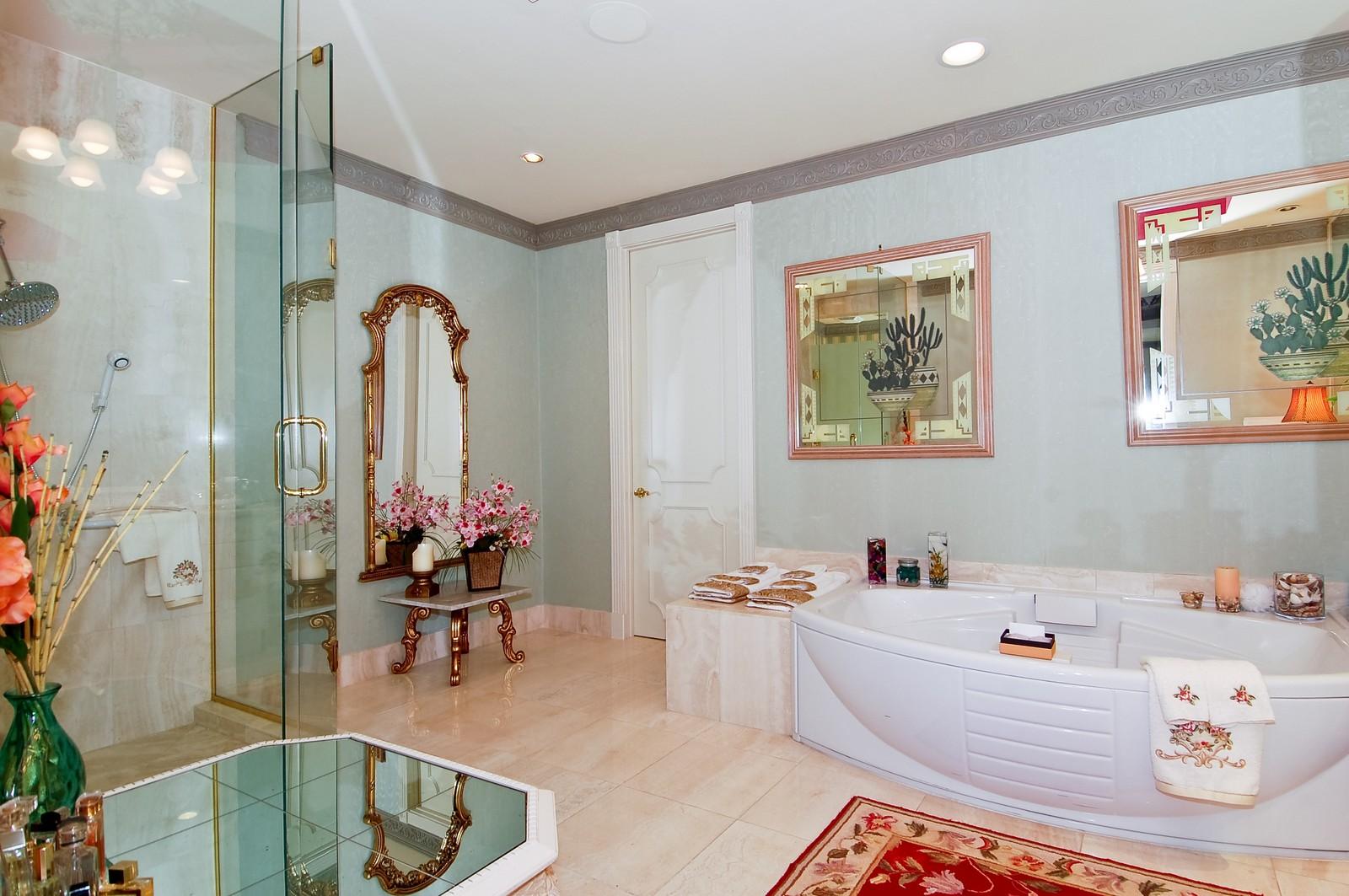 Real Estate Photography - 1230 Hillsboro Mile, Hillsboro Beach, FL, 33062 - Master Bathroom
