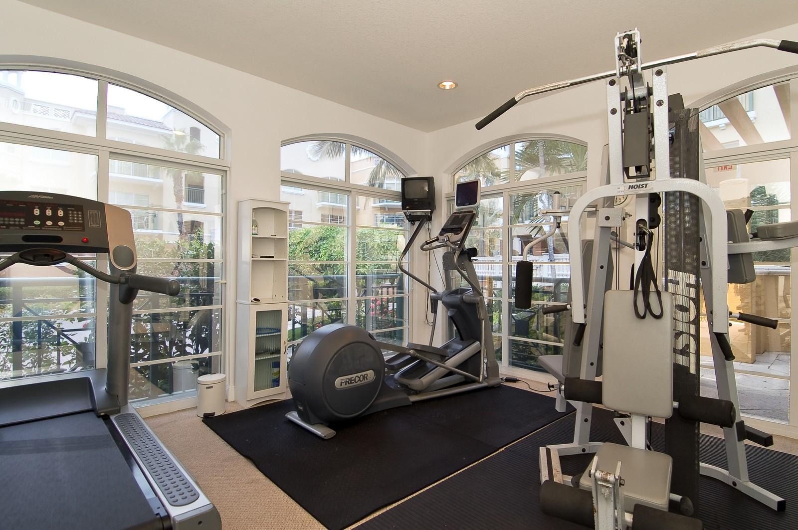 Real Estate Photography - 1230 Hillsboro Mile, Hillsboro Beach, FL, 33062 - Gym