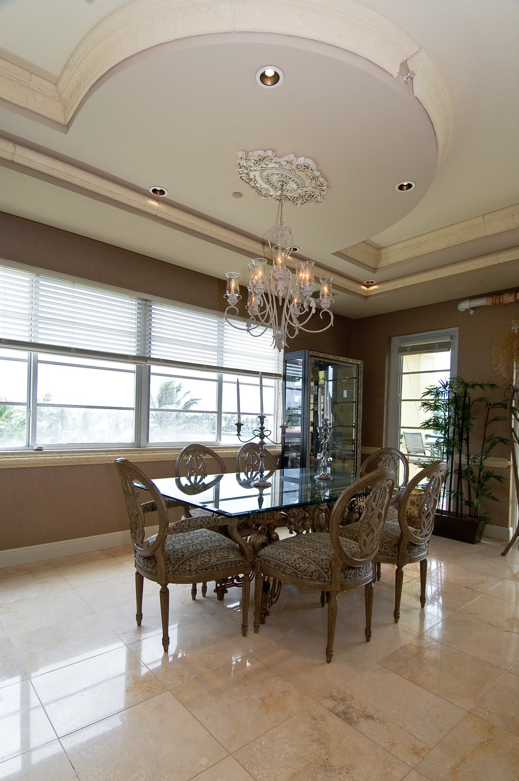 Real Estate Photography - 1230 Hillsboro Mile, Hillsboro Beach, FL, 33062 - Dining Room