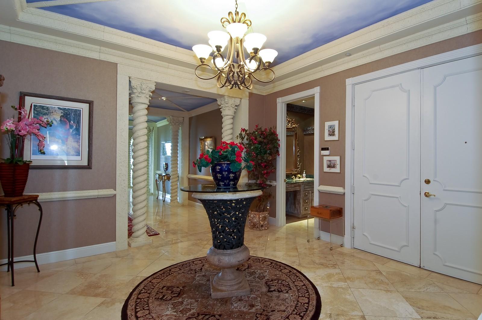 Real Estate Photography - 1230 Hillsboro Mile, Hillsboro Beach, FL, 33062 - Foyer