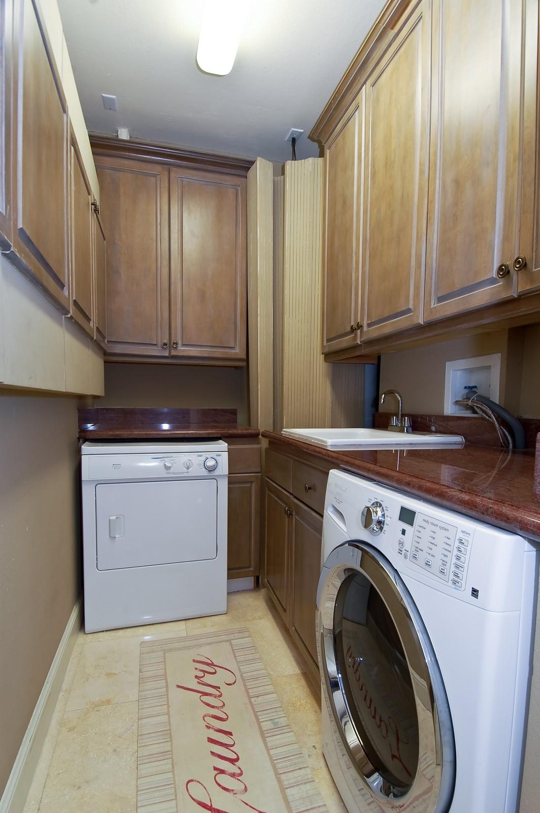 Real Estate Photography - 1230 Hillsboro Mile, Hillsboro Beach, FL, 33062 - Laundry Room