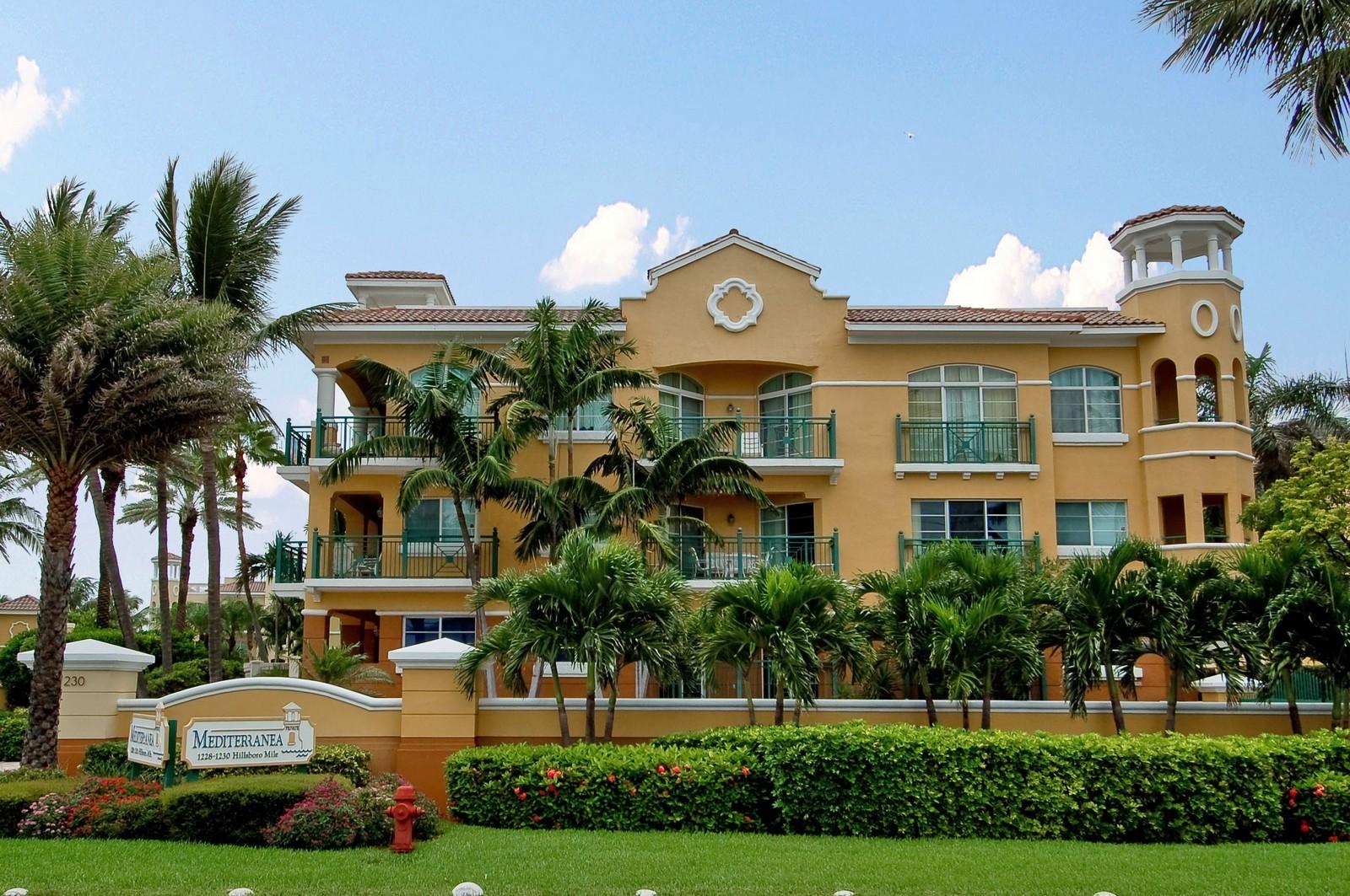 Real Estate Photography - 1230 Hillsboro Mile, Hillsboro Beach, FL, 33062 - Front View