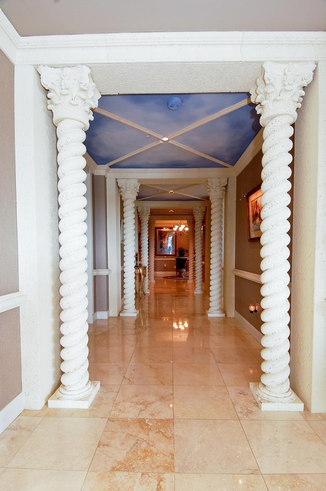 Real Estate Photography - 1230 Hillsboro Mile, Hillsboro Beach, FL, 33062 - Hallway