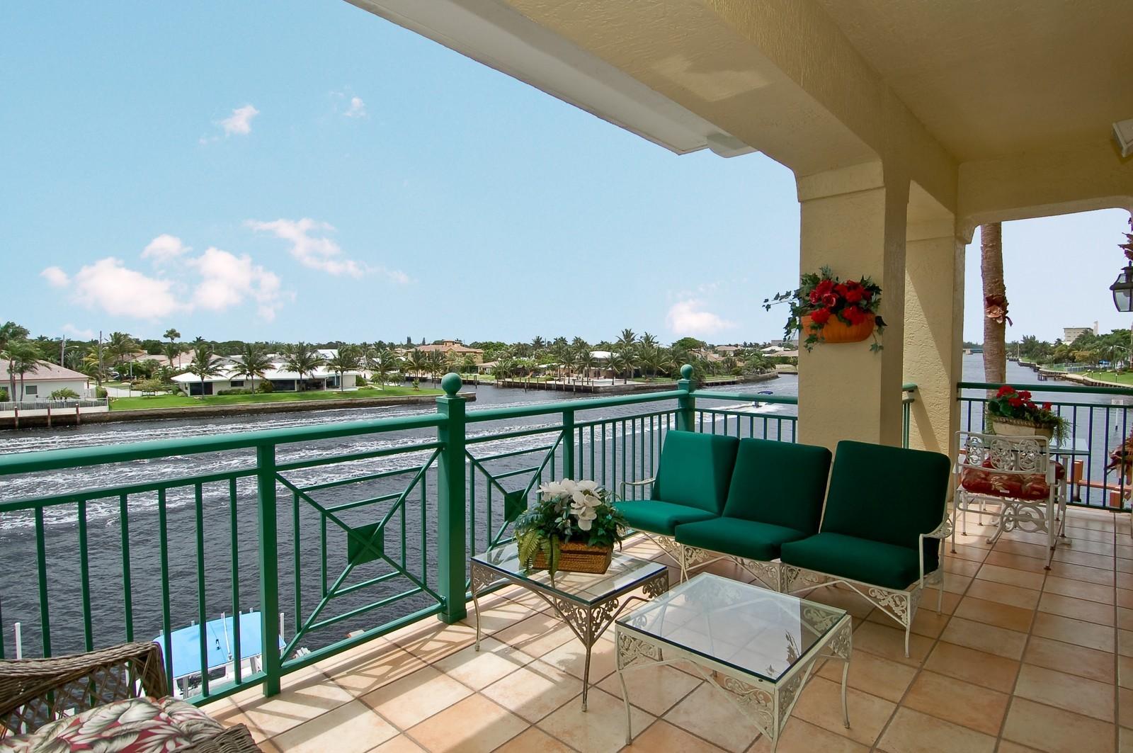 Real Estate Photography - 1230 Hillsboro Mile, Hillsboro Beach, FL, 33062 - Balcony