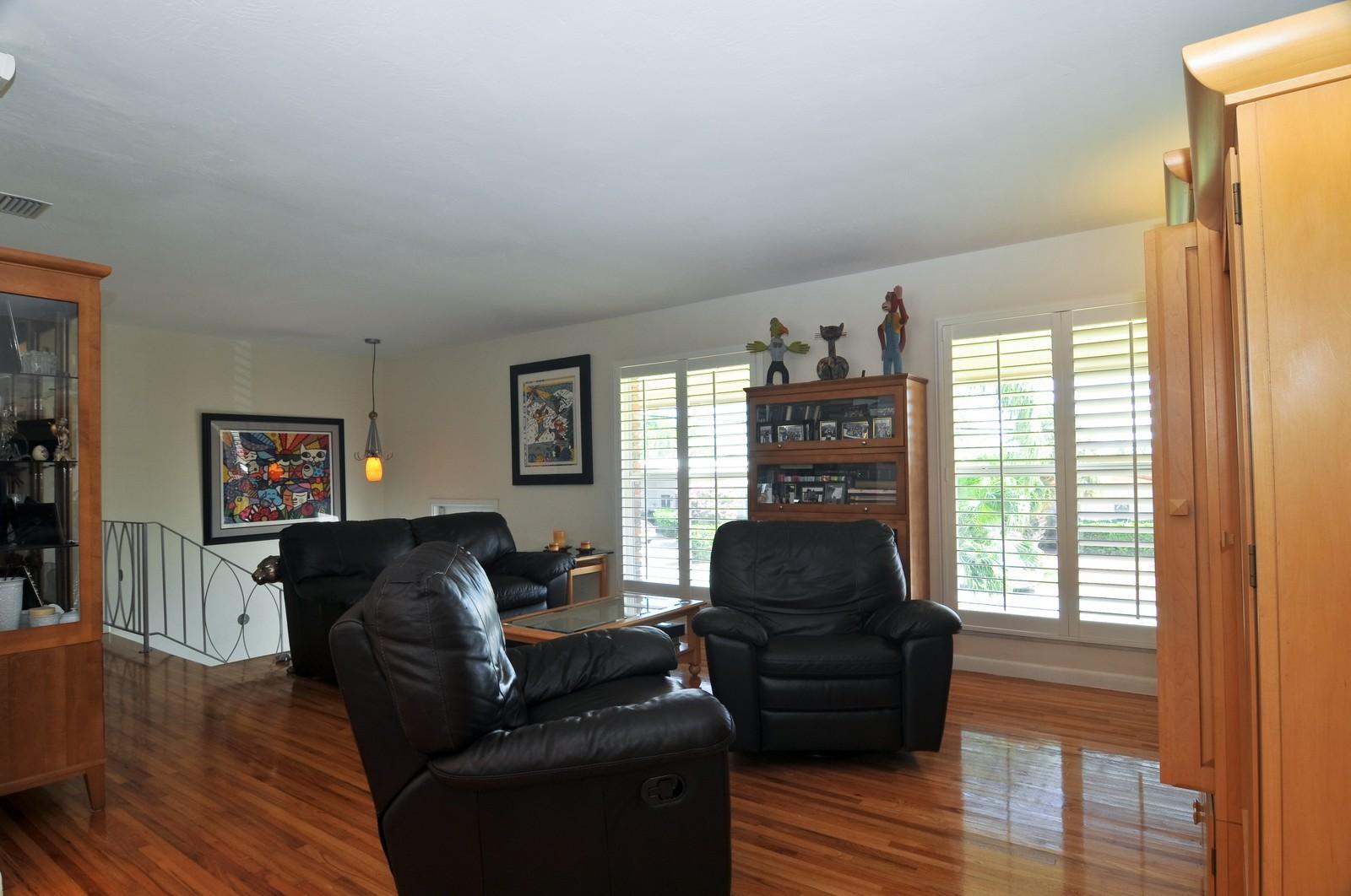 Real Estate Photography - 2010 NE 121st Rd, Miami, FL, 33181 - Living Room