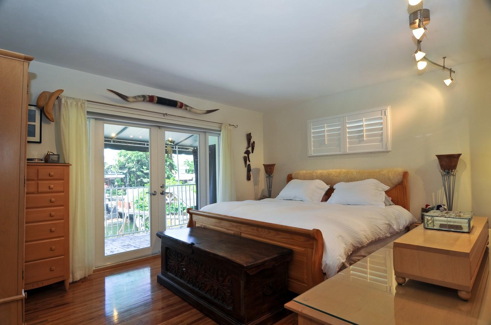 Real Estate Photography - 2010 NE 121st Rd, Miami, FL, 33181 - Master Bedroom