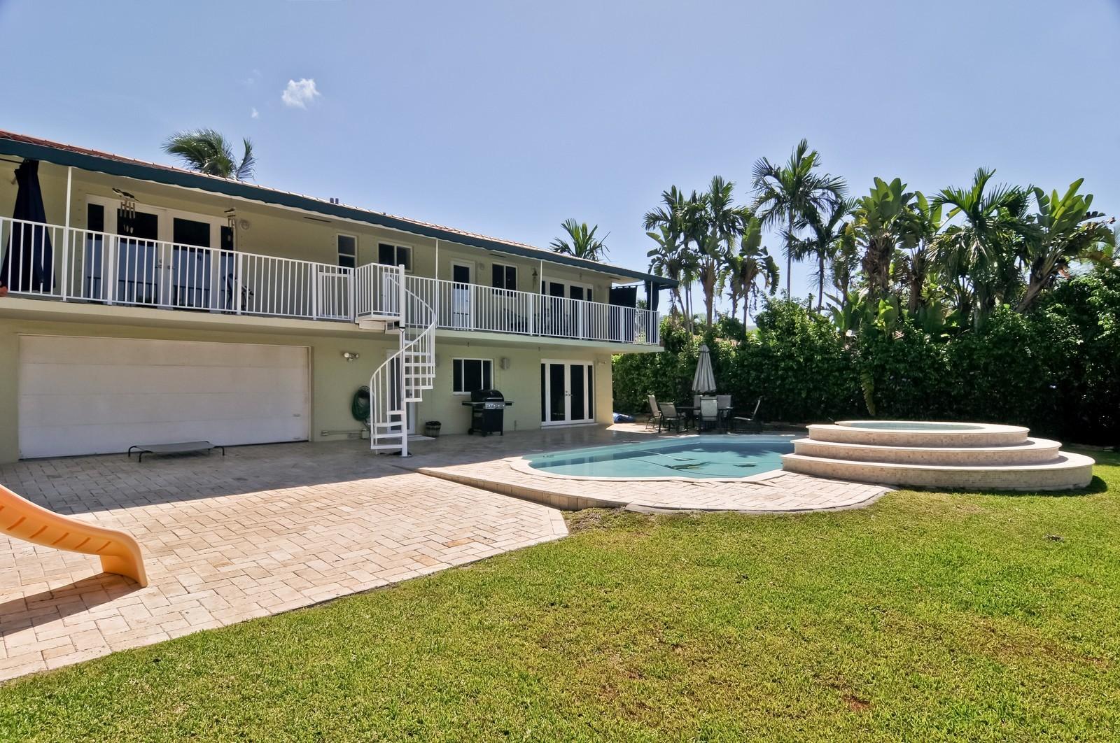 Real Estate Photography - 2010 NE 121st Rd, Miami, FL, 33181 - Back Yard
