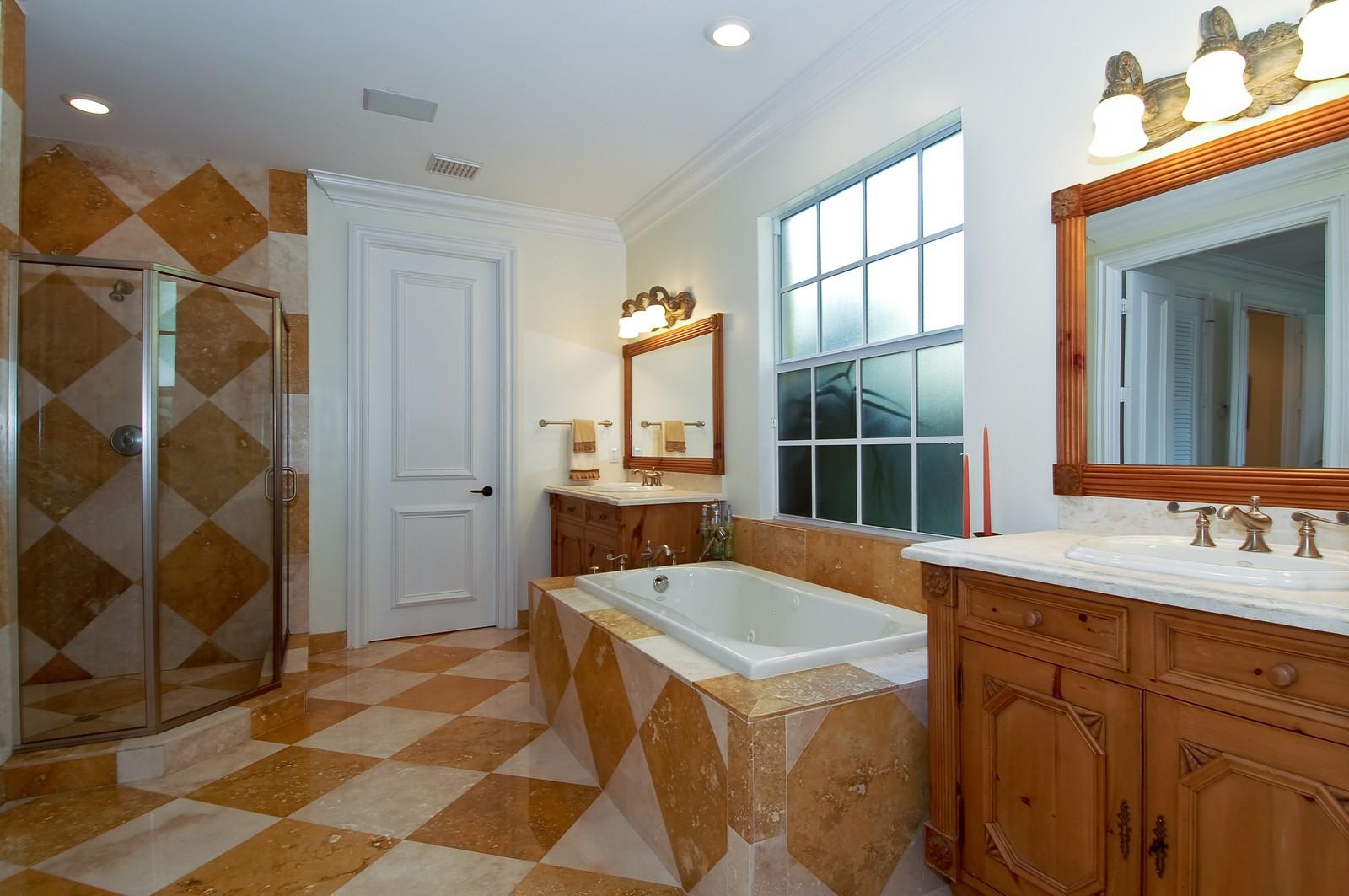 Real Estate Photography - 355 NE 3rd Ct, Boca Raton, FL, 33432 - Master Bathroom