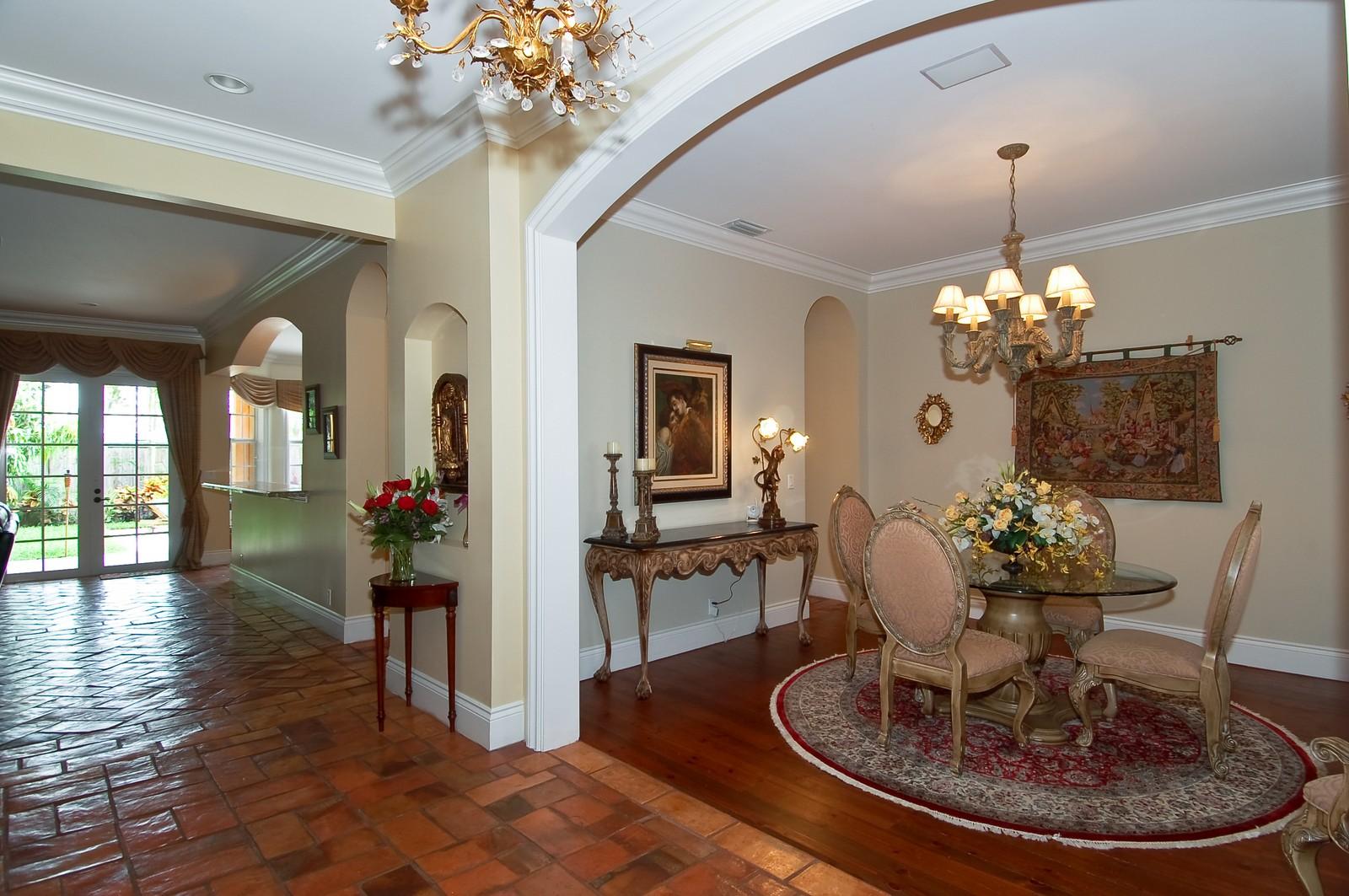 Real Estate Photography - 355 NE 3rd Ct, Boca Raton, FL, 33432 - Foyer/Dining Room