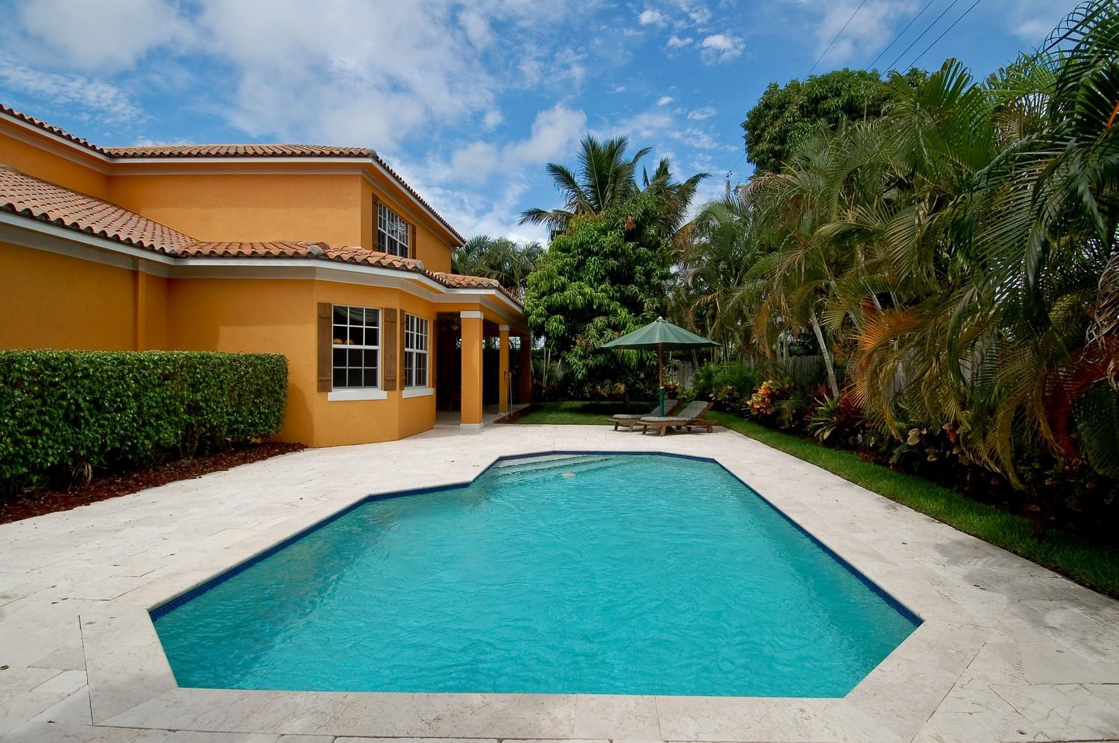 Real Estate Photography - 355 NE 3rd Ct, Boca Raton, FL, 33432 - Pool