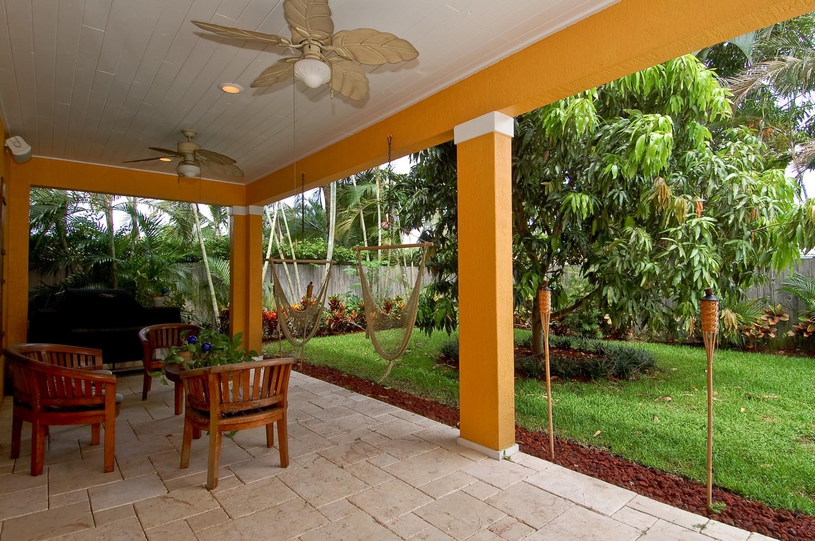 Real Estate Photography - 355 NE 3rd Ct, Boca Raton, FL, 33432 - Patio