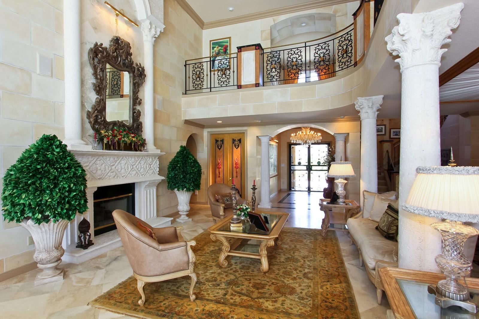 Real Estate Photography - 7015 Ayrshire Ln, Boca Raton, FL, 33496 - Living Room