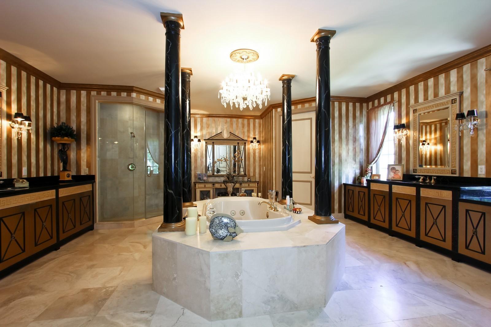Real Estate Photography - 7015 Ayrshire Ln, Boca Raton, FL, 33496 - Master Bathroom