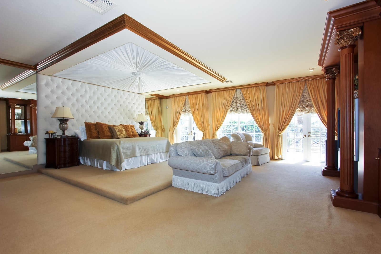 Real Estate Photography - 7015 Ayrshire Ln, Boca Raton, FL, 33496 - Master Bedroom