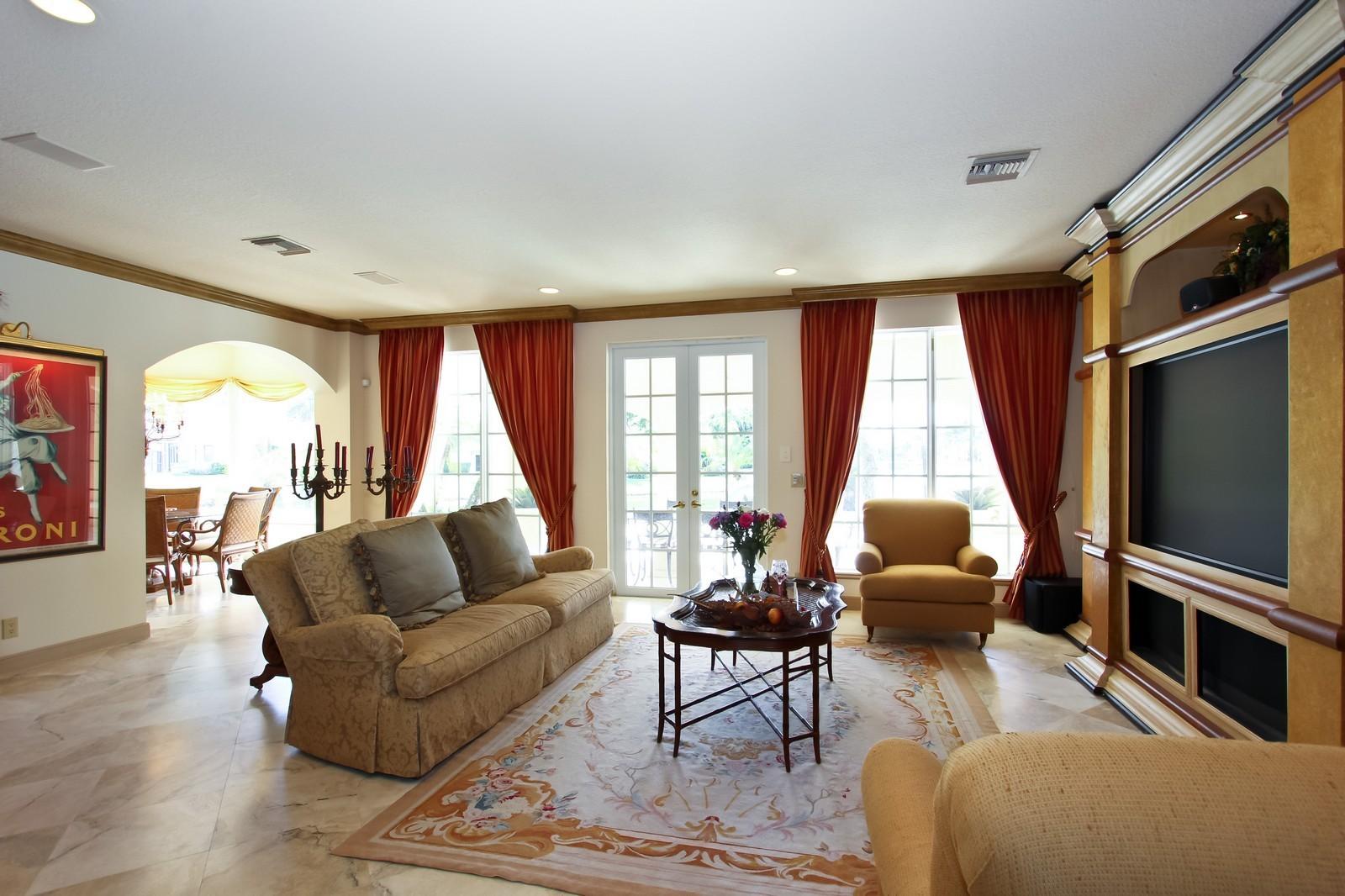Real Estate Photography - 7015 Ayrshire Ln, Boca Raton, FL, 33496 - Family Room