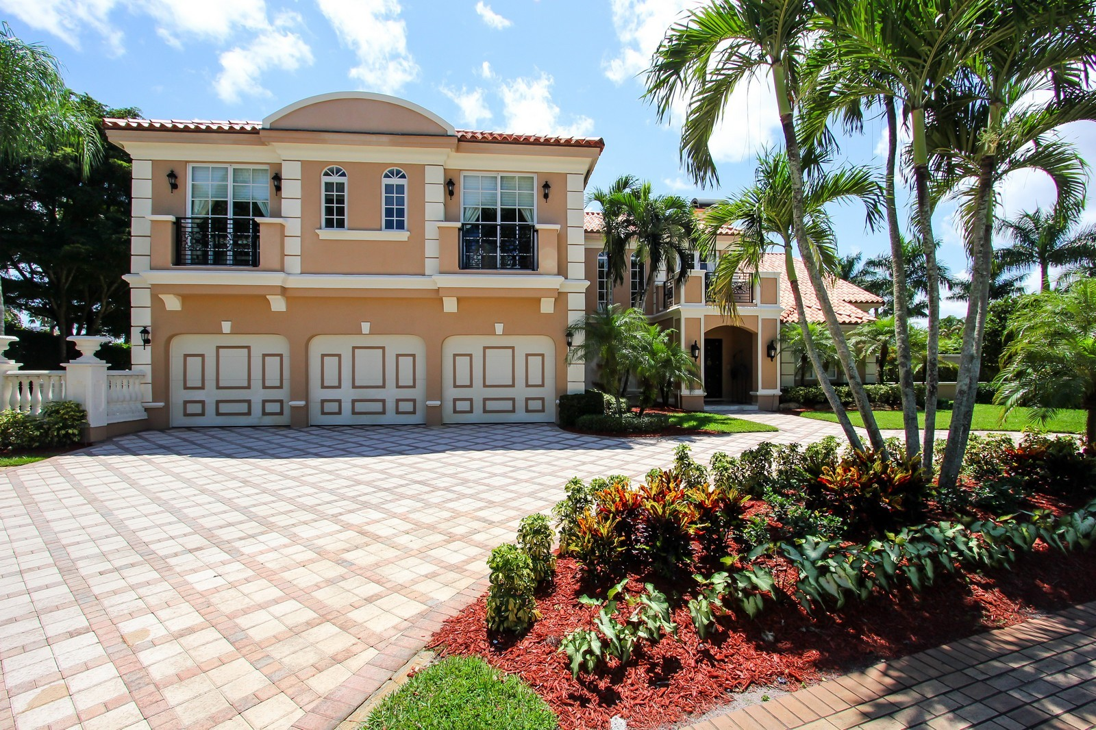 Real Estate Photography - 7015 Ayrshire Ln, Boca Raton, FL, 33496 - Front View