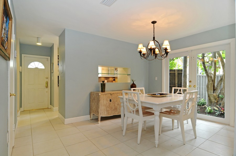 Real Estate Photography - 3015 Orange St, Miami, FL, 33133 - Dining Room