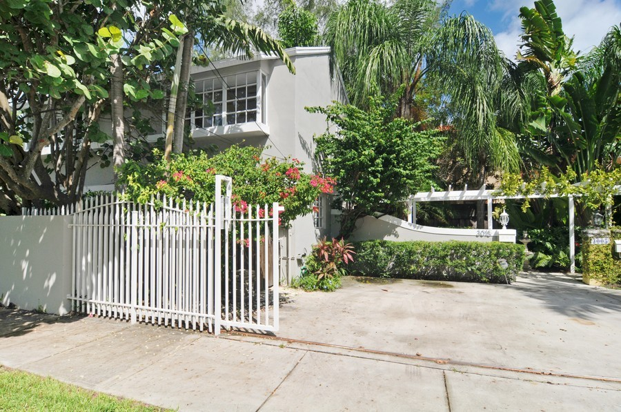 Real Estate Photography - 3015 Orange St, Miami, FL, 33133 - Front View