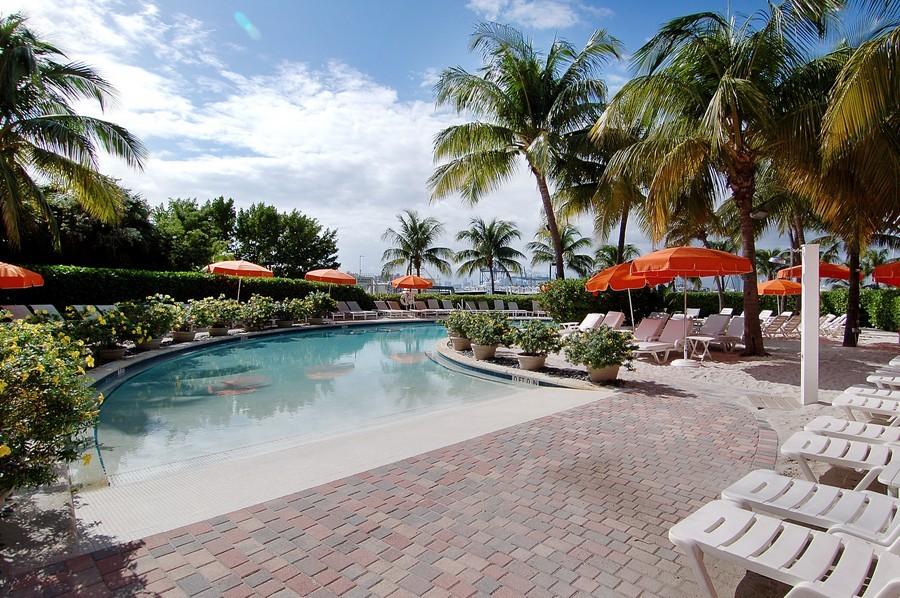 Real Estate Photography - 1000 S Pointe Drive, #2802, Miami Beach, FL, 33139 - La Piaggia Beach Club w/ Salt Water Pool