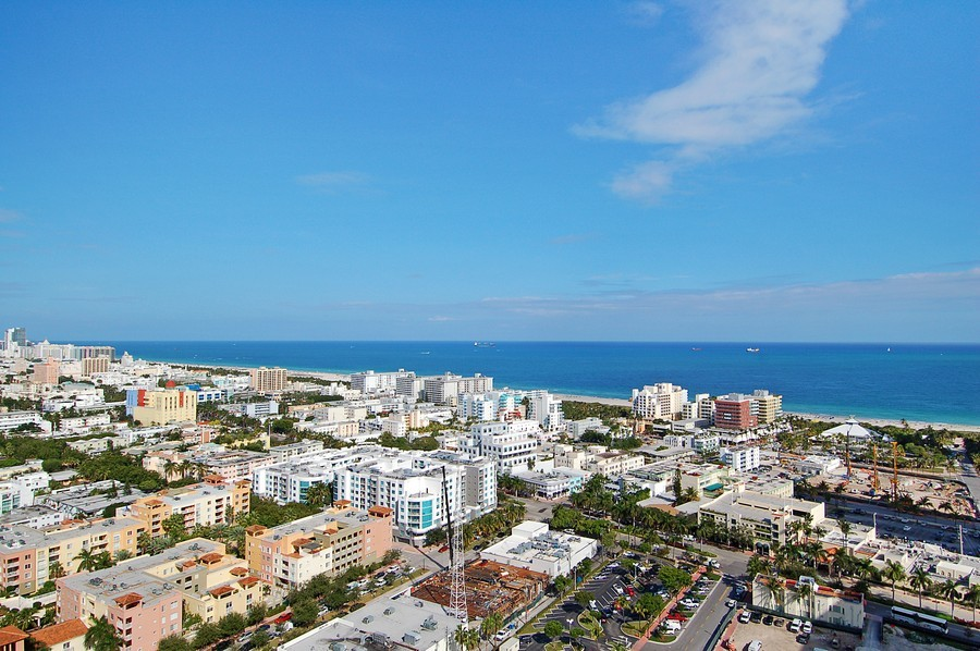 Real Estate Photography - 1000 S Pointe Drive, #2802, Miami Beach, FL, 33139 - Ocean View