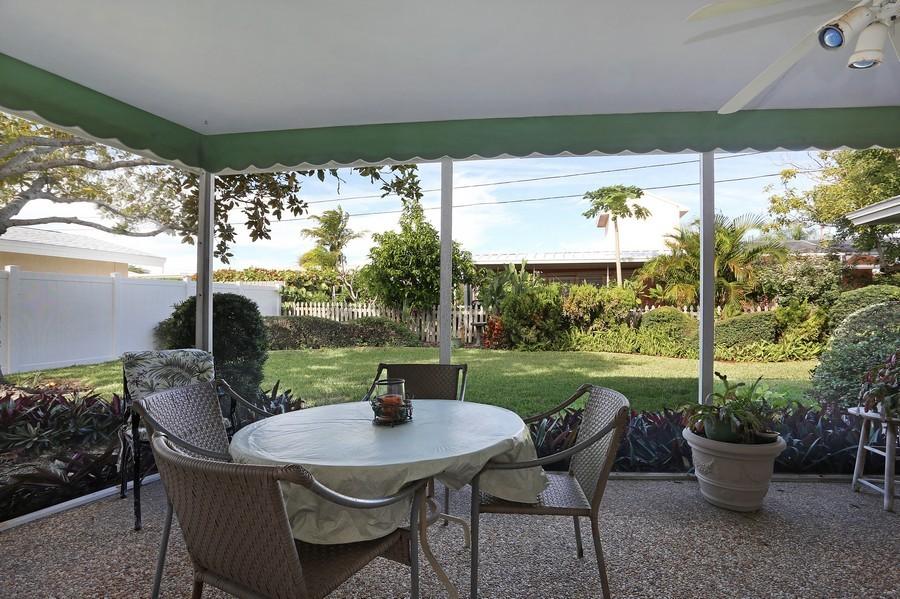 Real Estate Photography - 109 23rd St, Belleair Beach, FL, 33786 - Lanai
