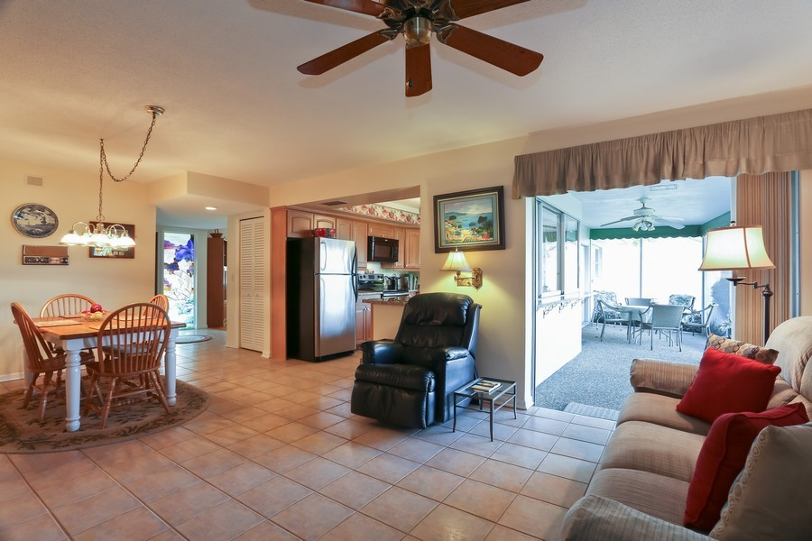 Real Estate Photography - 109 23rd St, Belleair Beach, FL, 33786 - Kitchen / Living Room