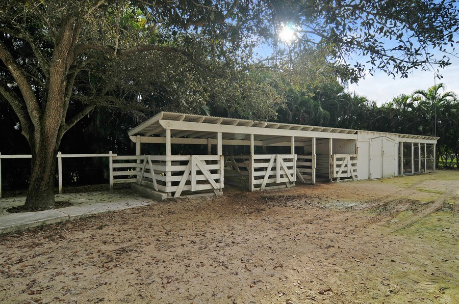 Real Estate Photography - 18900 sw 232th St., Miami, FL, 33170 - Horse Stall / Stables