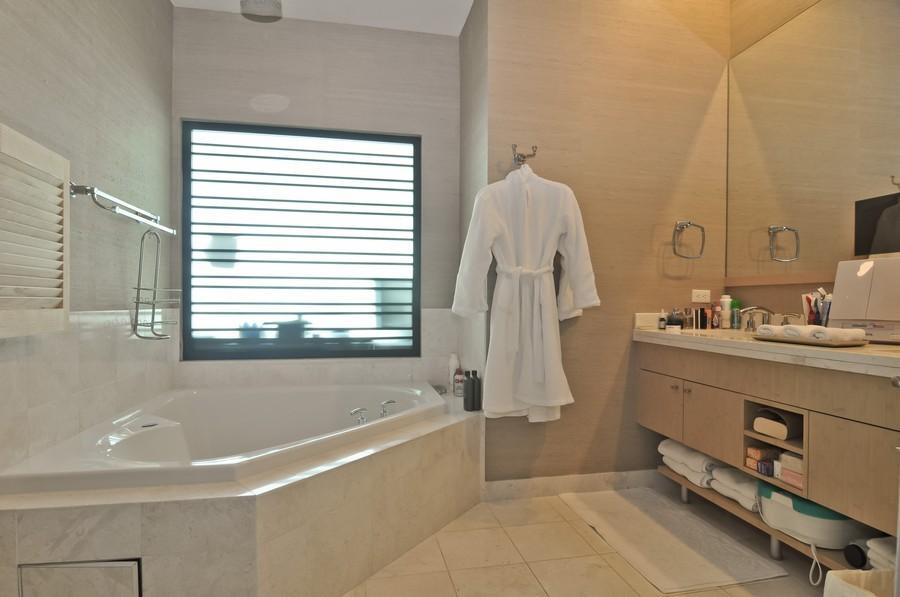 Real Estate Photography - 900 Brickell Key Blvd, Apt 3004, Miami, FL, 33131 - Master Bathroom