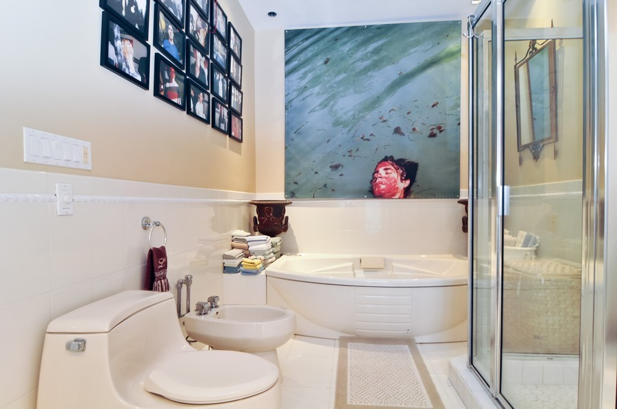Real Estate Photography - 3838 N Bayshore Drive, Miami, FL, 33137 - Master Bathroom