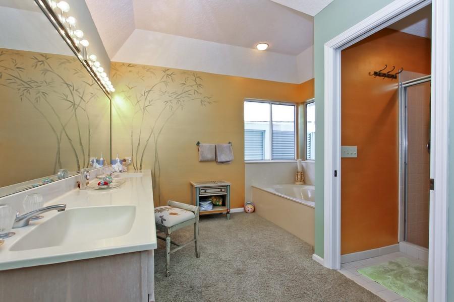 Real Estate Photography - 108 Olympus Way, Jupiter, FL, 33477 - Master Bathroom