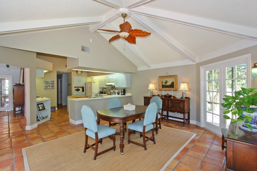 Real Estate Photography - 108 Olympus Way, Jupiter, FL, 33477 - Family Room / Kitchen