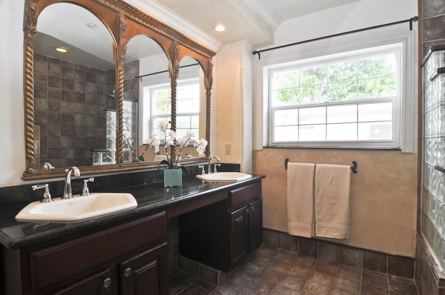 Real Estate Photography - 4174 Alton Rd, Miami Beach, FL, 33140 - Master Bathroom