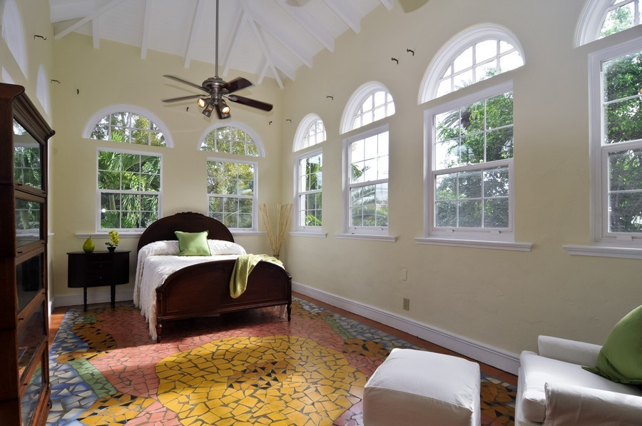 Real Estate Photography - 4174 Alton Rd, Miami Beach, FL, 33140 - Master Bedroom