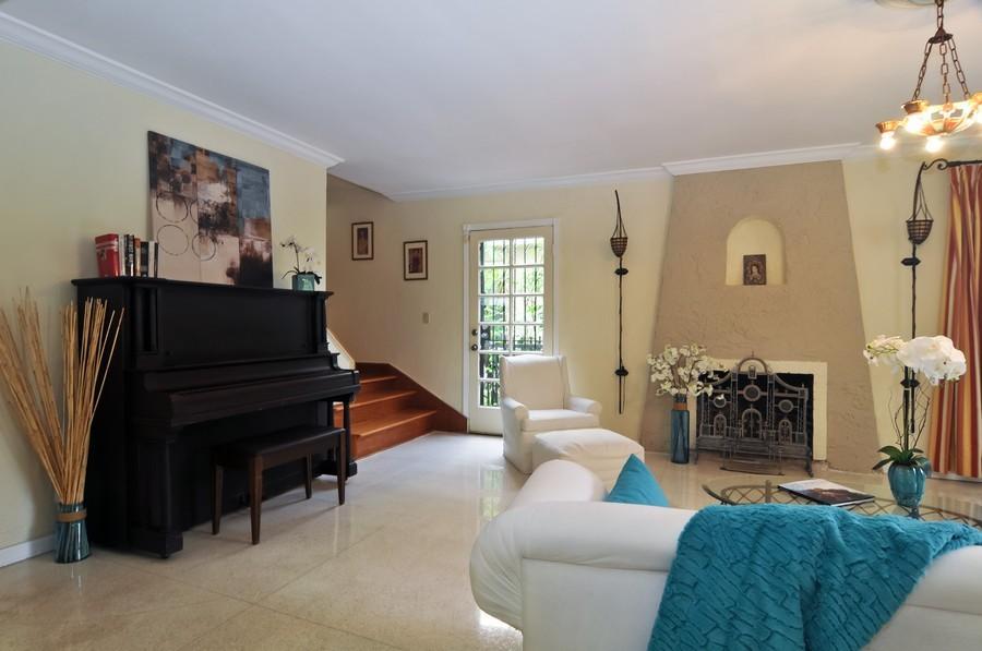 Real Estate Photography - 4174 Alton Rd, Miami Beach, FL, 33140 - Living Room