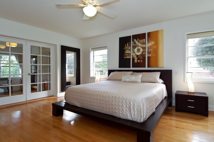 Real Estate Photography - 5455 N Bay Road, Miami Beach, FL, 33140 - Master Bedroom