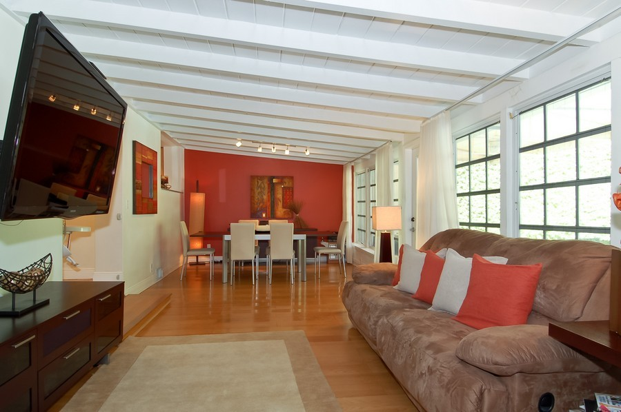 Real Estate Photography - 5455 N Bay Road, Miami Beach, FL, 33140 - Family Room