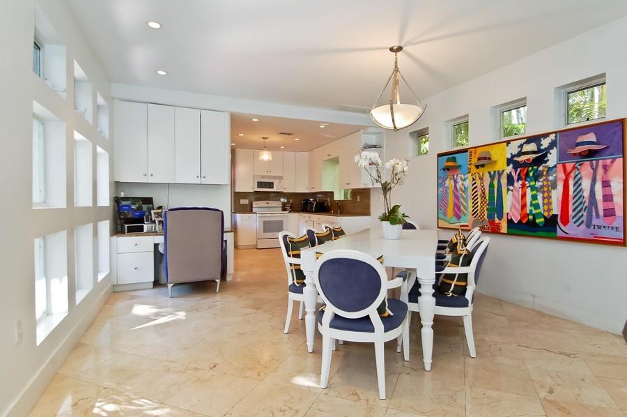 Real Estate Photography - 5777 Pinetree Drive, Miami Beach, FL, 33140 - Kitchen / Breakfast Room