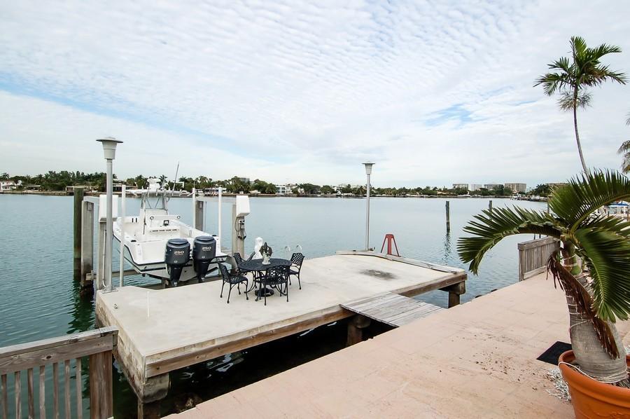 Real Estate Photography - 1121 Stillwater, Miami Beach, FL, 33141 - Dock