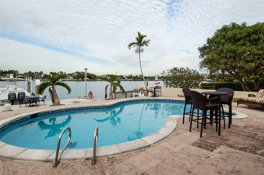 Real Estate Photography - 1121 Stillwater, Miami Beach, FL, 33141 - Pool