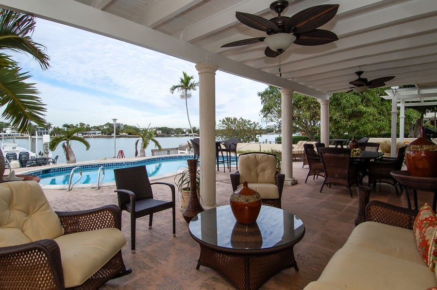 Real Estate Photography - 1121 Stillwater, Miami Beach, FL, 33141 - Patio