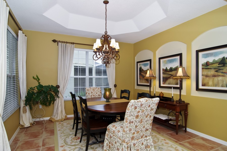 Real Estate Photography - 13160 Sunkiss Loop, Windermere, FL, 34786 - Dining Room