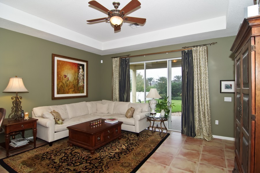 Real Estate Photography - 13160 Sunkiss Loop, Windermere, FL, 34786 - Family Room