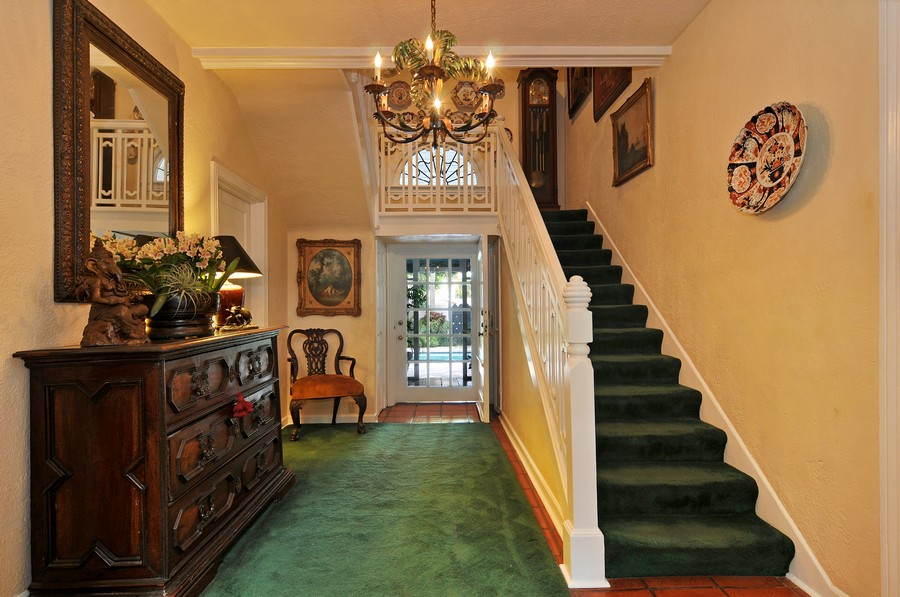 Real Estate Photography - 6705 San Vicente Street, Coral Gables, FL, 33146 - Foyer