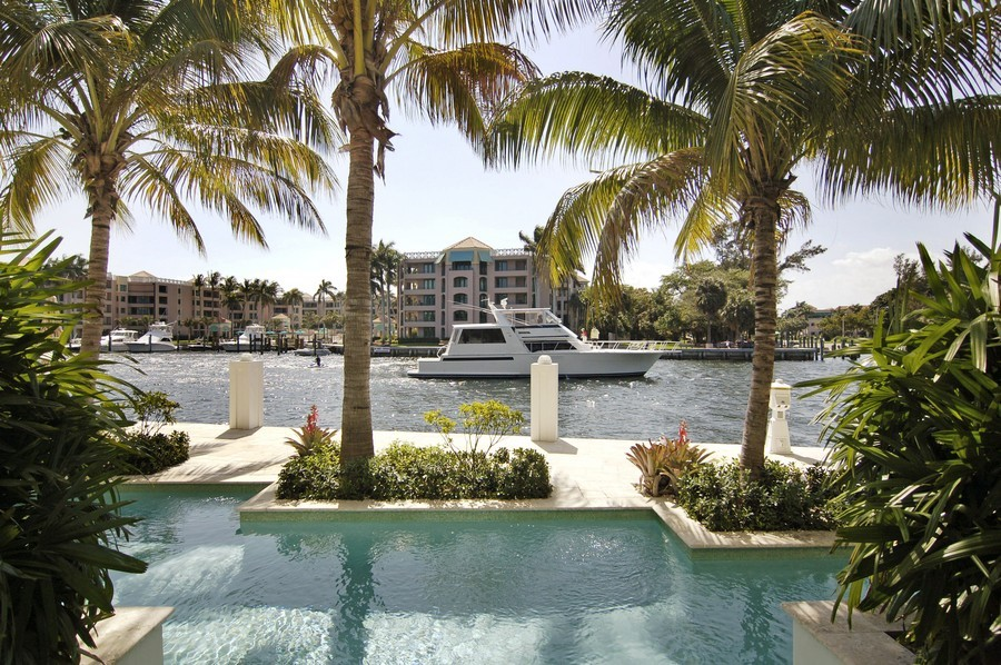 Real Estate Photography - 135 Spanish Trail, Boca Raton, FL, 33432 - Intracoastal View